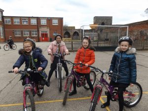 Year 4 cycling project.